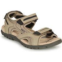 Geox  S.STRADA D  men's Sandals in Beige
