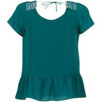 Betty London  INOTTE  women's Blouse in Green