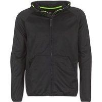 G-Star Raw  STRETT SLIM HOODED ZIP THRU SW L/S  men's Sweatshirt in Black