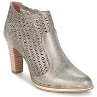 Myma  LINOPOS  women's Low Ankle Boots in Silver