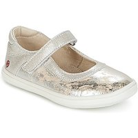 GBB  PLACIDA  girls's Children's Shoes (Pumps / Ballerinas) in Silver