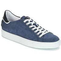 John Galliano  4740  men's Shoes (Trainers) in Blue
