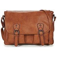 Casual Attitude  NUDILE  mens Messenger bag in Brown