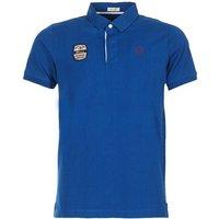 Serge Blanco  DOSSART 15  men's Polo shirt in Blue