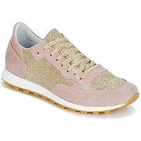 Yurban  CROUTA  women's Shoes (Trainers) in Pink