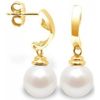 Blue Pearls  BPS K344 W  women's Earrings in Multicolour