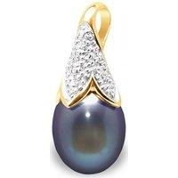Blue Pearls  BPS K288 W  women's Pendant in Multicolour