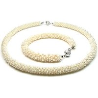 Blue Pearls  BPS 0117 Y  womens Jewellery set in Multicolour