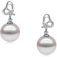 Blue Pearls  BPS P302 Q  women's Earrings in Multicolour