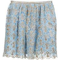 Manoush  ARABESQUE  women's Skirt in Blue