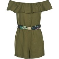 Guess  RESPUNNI  women's Dress in Kaki