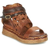 Airstep / A.s.98 Lagos Sandals In Brown