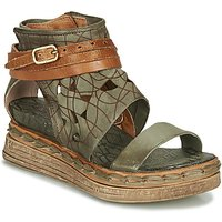 Airstep / A.s.98 Lagos Sandals In Green