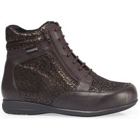 Calzamedi  DIABETIC ANKLE BOOTS SCALES W0684  womens Shoes (High-top Trainers) in Brown