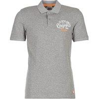 Jack   Jones  JORTRAST  men's Polo shirt in Grey