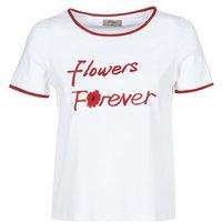 Betty London  INNATIMBI  women's T shirt in White