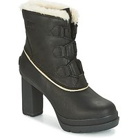 Sorel  Dacie Lace  womens Low Ankle Boots in Black