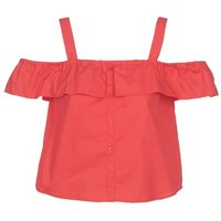 Moony Mood  IFARANDOL  women's Blouse in Red