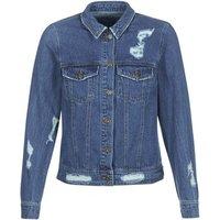 Only Becky Denim Jacket In Blue