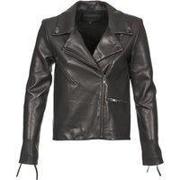 American Retro  LEON JCKT  women's Leather jacket in Black