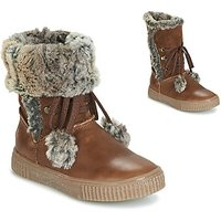 GBB  NOUSTIK  girls's Children's High Boots in Brown