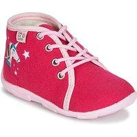 GBB  FEE ARC EN CIEL  girls's Children's Slippers in Pink