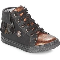 Catimini  LOULOU  girlss Childrens Shoes (High-top Trainers) in Black