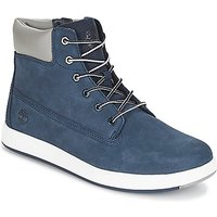 Timberland  Davis Square 6 Inch Boot  girlss Childrens Shoes (High-top Trainers) in Blue