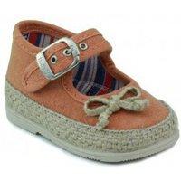 Vulladi  CANVAS  girls's Children's Shoes (Trainers) in Orange