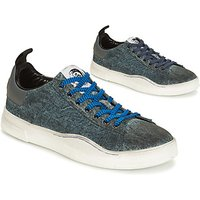 Diesel  S-CLEVER LOW  men's Shoes (Trainers) in Blue