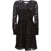 MICHAEL Michael Kors  RAGLAN SLV SHORT DRS  womens Dress in Black