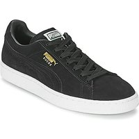 Puma-SUEDE-CLASSIC-womens-Shoes-Trainers-in-Black