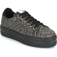 Victoria  DEPORTIVO GLITTER/CARAMELO  women's Shoes (Trainers) in Black
