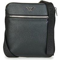 Emporio Armani  BUSINESS FLAT MESSENGER BAG  mens Pouch in Black