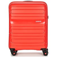 American Tourister  SUNSIDE 55CM 4R  womens Hard Suitcase in Red