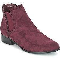Moony Mood  JERMA  women's Mid Boots in Purple