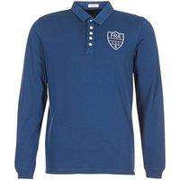 Serge Blanco  POLO France  men's Polo shirt in Blue