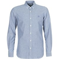 Serge Blanco  15 DOS  men's Long sleeved Shirt in Blue