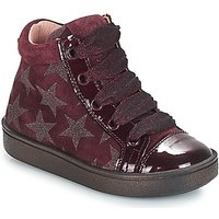 Acebos  MASSA  girlss Childrens Shoes (High-top Trainers) in Bordeaux