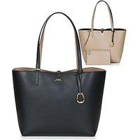 Lauren Ralph Lauren  MERRIMACK REVERSIBLE TOTE MEDIUM  women's Shopper bag in Black