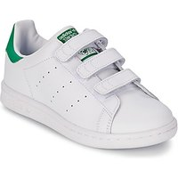 adidas  STAN SMITH CF C  boys's Children's Shoes (Trainers) in White