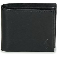 Polo Ralph Lauren  EU BILL W/ C-WALLET-SMOOTH LEATHER  men's Purse wallet in Black