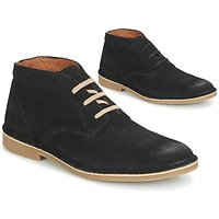Selected  ROYCE DESERT SUEDE BOOT  mens Mid Boots in Black