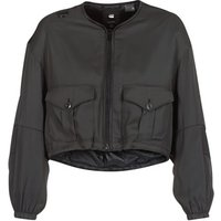 G-Star Raw  RACKAM OS CROPPED BOMBER  womens Jacket in Black