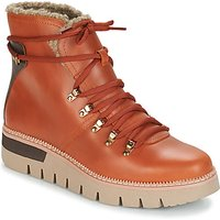 Caterpillar  ATTENTION FUR WP  women's Low Ankle Boots in Brown