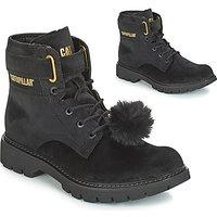 Caterpillar  CONVERSION VELVET  women's Low Ankle Boots in Black