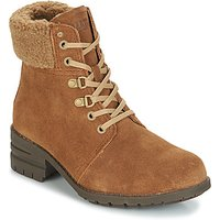 Caterpillar-CORA-FUR-womens-Low-Ankle-Boots-in-Brown