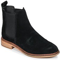 Clarks Clarkdale Mid Boots In Black