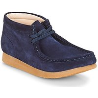 Clarks  Wallabee Bt  boys's Children's Mid Boots in Blue