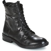 Mjus  PAL LACE  womens Mid Boots in Black